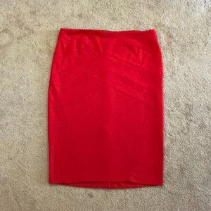 Grace elements Bodycon red skirt size M